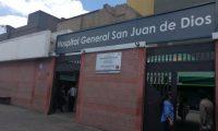 El Hospital General San Juan de Dios es uno de los centros asistenciales que atenderían a los presidentes de los Organismos de Estado por la emergencia del coronavirus. (Foto HemerotecaPL)