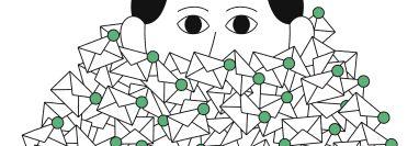 Siguiendo algunas sencillas técnicas se puede lograr controlar esa montaña de correos electrónicos, que no para de crecer. Imagen Prensa Libre: Dominic Kesterton/The New York Times