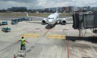 El Aeropuerto Internacional La Aurora reanudó actividades el 18 de septiembre 2020. (Foto Prensa Libre: Érick Ávila)