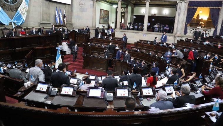 La iniciativa contra las pandillas también se encuentra incluida para la plenaria de este jueves. Fotografía: Congreso.