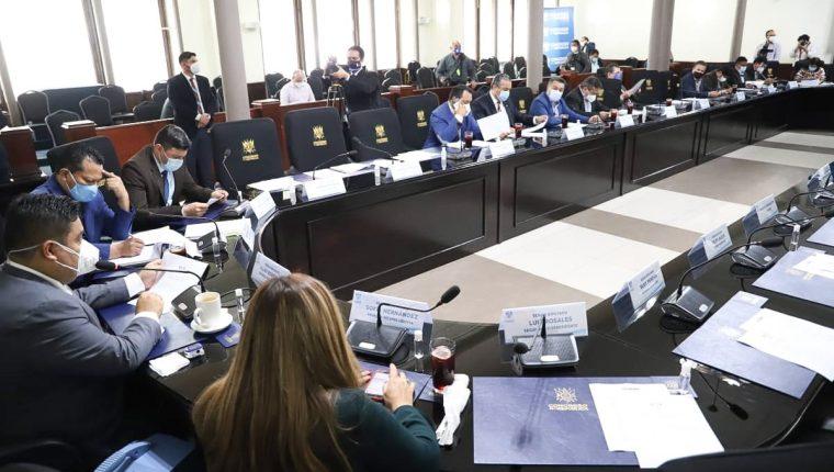 La elección de Cortes abarcó buena parte de la sesión de Jefes de Bloque, pero nuevamente no se llegaron a acuerdos. Fotografía: Congreso.