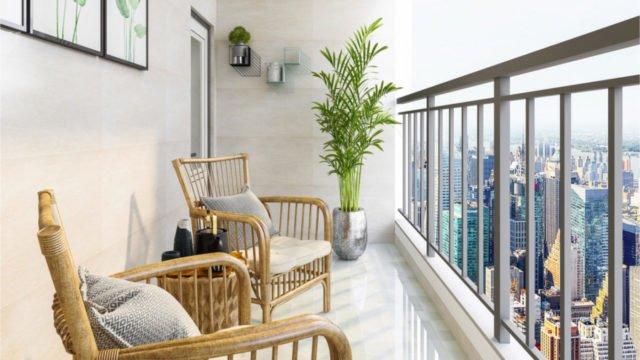 Departamentos con balcones, la amenidad que cobra fuerza tras la pandemia