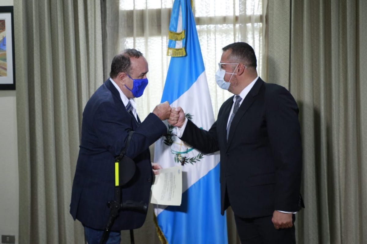 Giammattei remueve a la ministra y dos viceministros de Cultura