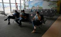 El aeropuerto Internacional la Aurora lleva una semana de reapertura. (Foto Prensa Libre: Hemeroteca PL)