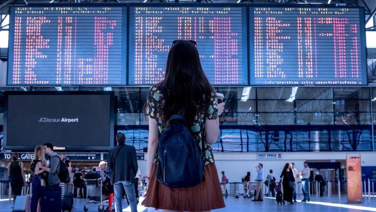 La actividad ha sido irregular en los aeropuertos debido al coronavirus. (Foto Prensa Libre: Pixabay)