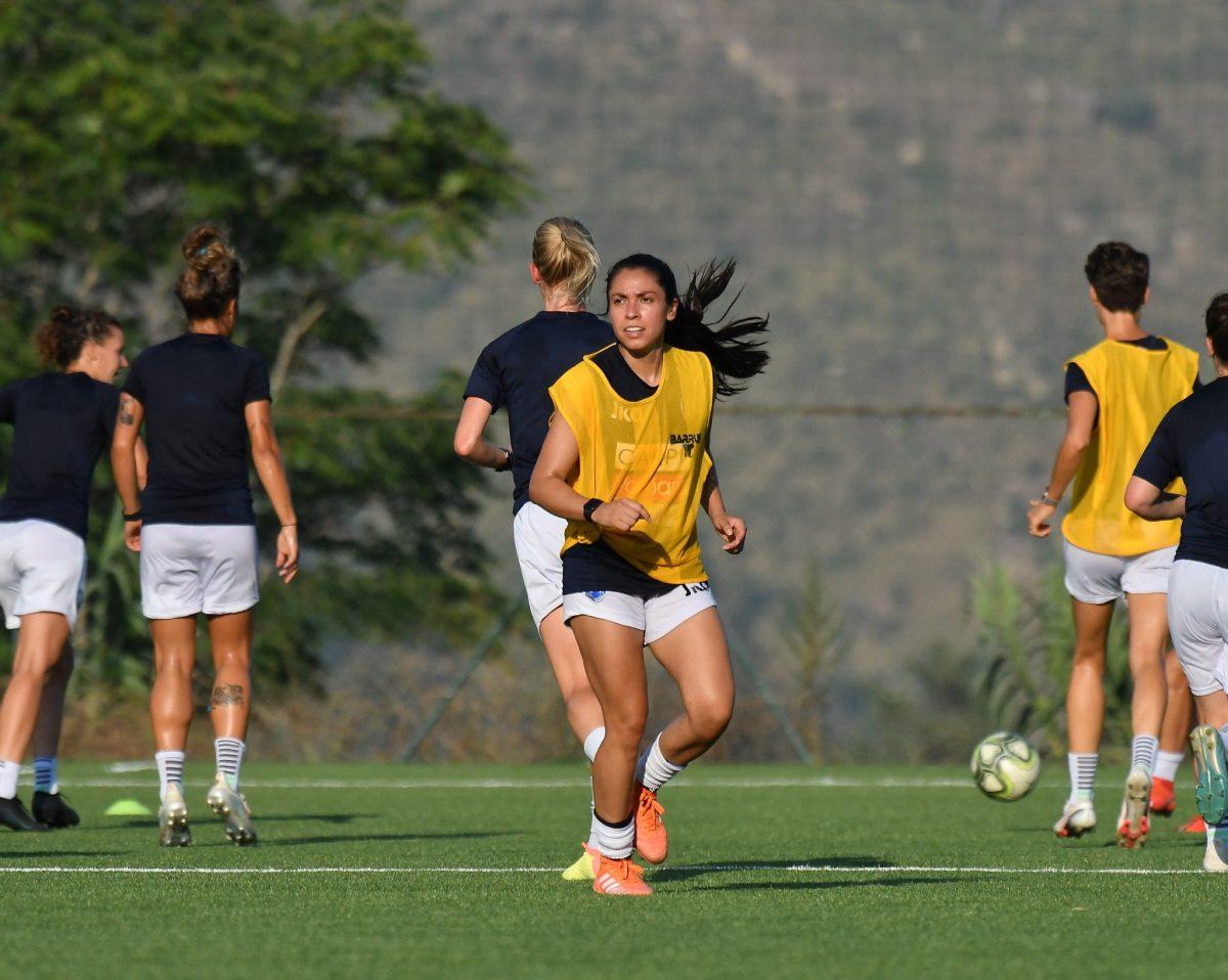 Ana Lucía Martínez hace su debut con el Roma, su nuevo equipo en Italia