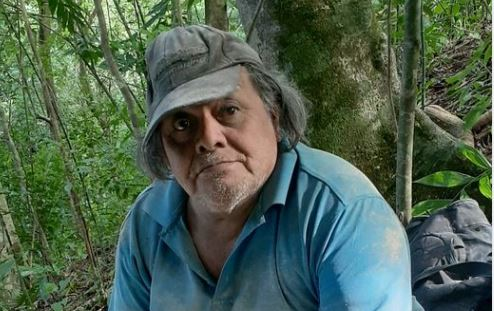Felipe Quixchán trabajó en varios sitios arqueológicos. (Foto: cortesía de Edwin Román-Ramírez)