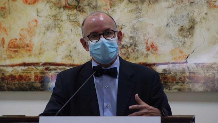 Edwin Asturias, exjefe de la Coprecovid. (Foto Prensa Libre: Miriam Figueroa)