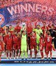 El Bayern de Múnich gana la Supercopa en la prórroga ante un heroíco Sevilla. (Foto Prensa Libre: EFE)