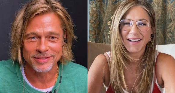 Con todo y coqueteo: Así fue el emocionante reencuentro entre Brad Pitt y Jennifer Aniston a 15 años de su separación