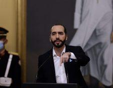 """Presidente de El Salvador reclama falta de """"liderazgo"""" de la ONU ante pandemia. (Foto Prensa Libre: AFP)"""