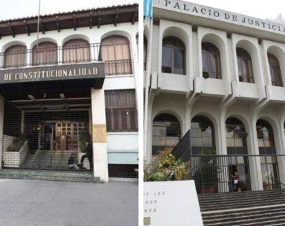 Cacif señala que hay falta de certeza institucional ante la desintegración de las cortes. (Foto Prensa Libre: Hemeroteca PL)