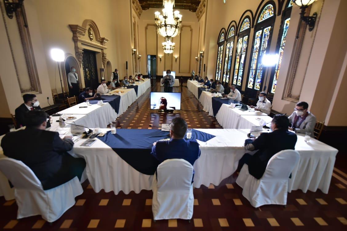 Coronavirus: Dos delegados del Centro de Gobierno dan positivo de covid-19