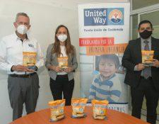 La entrega de este producto se realizará por medio de su aliado estratégico, Fondo Unido de Guatemala. Foto Prensa Libre: Cortesía