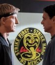 Johnny Lawrence ( William Zabka) y Daniel LaRusso (Ralph Macchio) en la serie Cobra Kai. (Foto Prensa Libre: Instagram: cobrakaiseries)