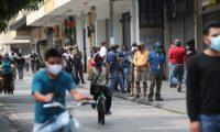 A partir del 1 de octubre rigen nuevas restricciones para el manejo de la pandemia en Guatemala. (Foto Prensa Libre: Hemeroteca PL)
