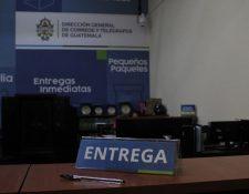 La oficina de atención al cliente de Correos y Telégrafos fue renovada, y se trabaja en un nuevo plan de servicio que responda a las necesidades de los guatemaltecos. (Foto Prensa Libre: Esbin García)
