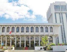 Sede de la Cortes Suprema de Justicia. (Foto Prensa Libre:)