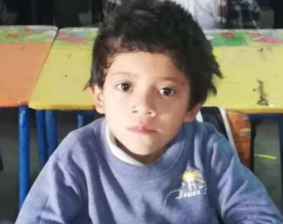 Ismael Danilo Mateo Aragón, niño arrastrado por un río en Jalapa. (Foto Prensa Libre: Colaboración)