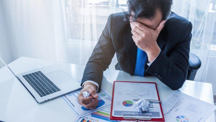 La disminución en ventas y crecimiento de cuentas incobrables hicieron que las empresas se endeudaran más durante la pandemia. (Foto, Prensa Libre: Hemeroteca PL).