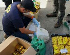 Incautación de drogas en empresa que está vinculada al caso La Línea. (Foto Prensa Libre: Hemeroteca PL)