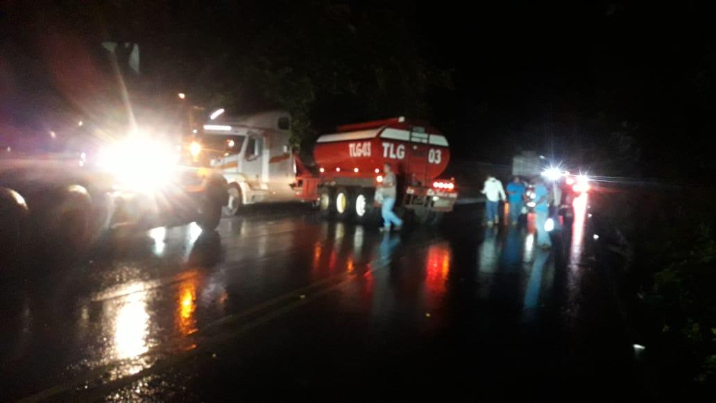 Zacapa: Al menos un muerto y 10 heridos en triple colisión en ruta al Atlántico