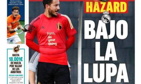 Eden Hazard repite errores, regresa con sobrepeso y el Real Madrid se enfada