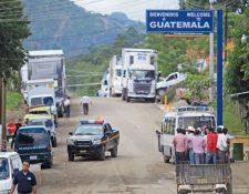 Las fronteras terrestres son reabiertas este 18 de septiembre luego de seis meses estar cerradas. Foto con fines ilustrativos. (Foto, Prensa Libre: Hemeroteca PL).