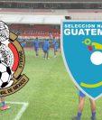 México enfrenta a Guatemala en un estadio Azteca inmenso y vacío. (Foto Prensa Libre: Hemeroteca PL)