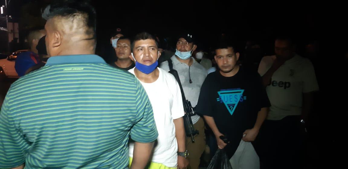Reos de El Infiernito liberan a los 10 guardias retenidos durante traslado de cabecillas de la mara 18