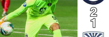 Nicholas Hagen sigue mostrando un buen desempeño en la portería de Sabail FC. Foto Prensa Libre: Tomada de Redes Sabail FC.