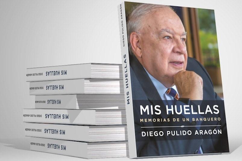 El libro que guarda los secretos de Diego Pulido, un banquero exitoso