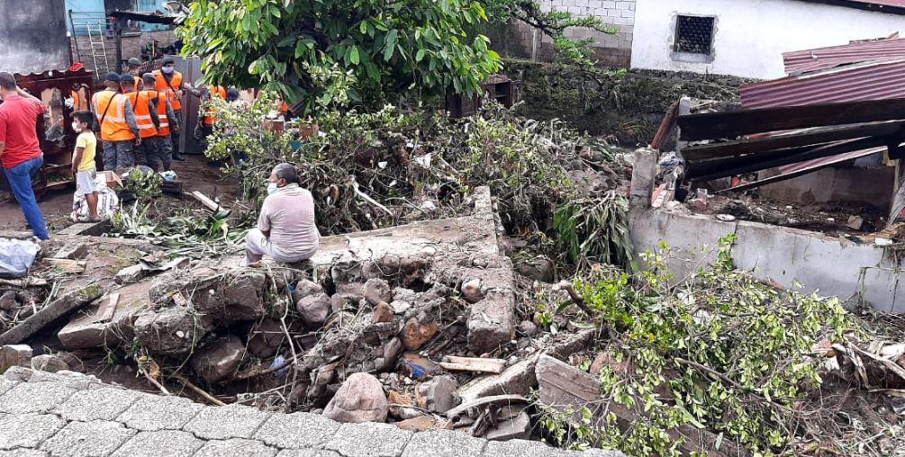 Tres muertos, 77 casas dañadas y más de 30 mil afectados dejan las lluvias de las últimas 24 horas