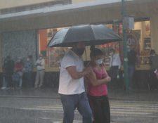 La lluvias en septiembre podrían generar acumulados de hasta 500 milímetros en regiones como la bocacosta y suroccidente del país. (Foto Prensa Libre: Hemeroteca PL)