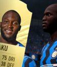 Romelu Lukaku mostró su descuerdo sobre la calificación que recibe en el juego Fifa 2021. (Foto Redes).