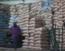 Durante los tres días de paro se dejaron de entregar 36 mil quintales de maíz, tanto al Cenma como a La Terminal. (Foto Prensa Libre: Érick Ávila)