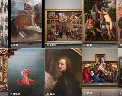 Resulta que El Museo del Prado tiene una cuenta de TikTok que está enamorando a medio mundo