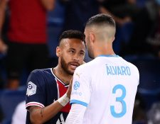La Liga de Fútbol Profesional (LFP) francesa investiga la acusación sobre los insultos racistas que habría sufrido el Neymar.  (Foto Prensa Libre: AFP)