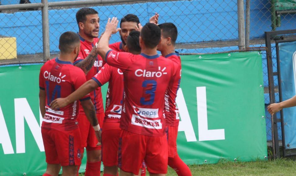 Ramiro Rocca: el goleador de los Rojos de Municipal que destacó con sus 4 anotaciones frente a Sanarate