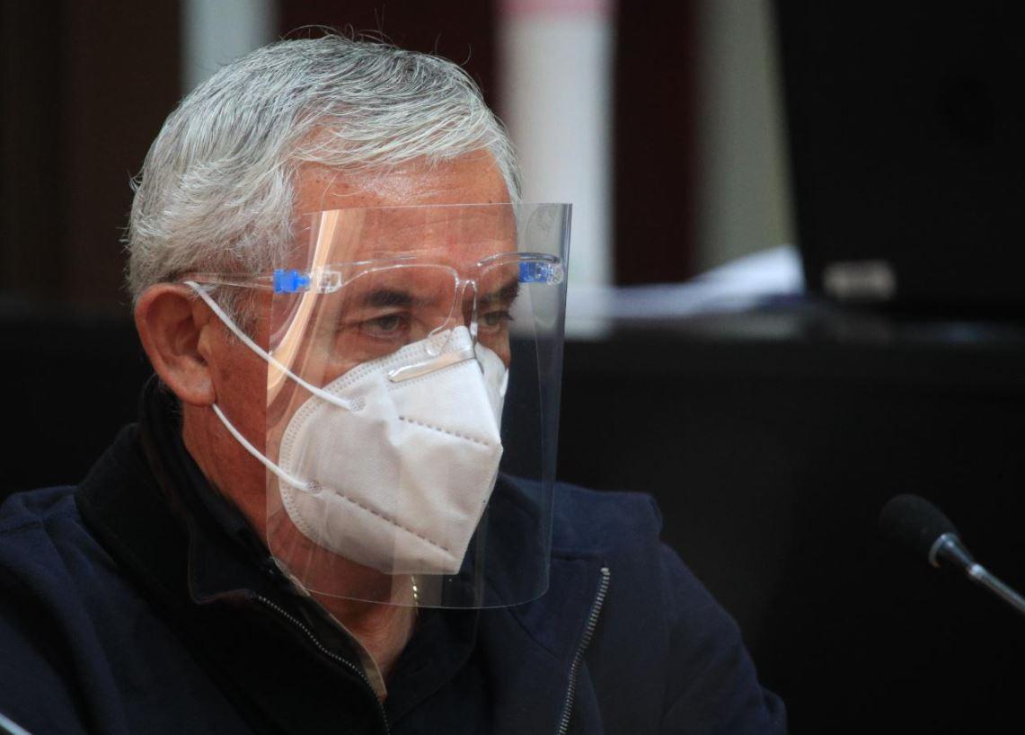Otto Pérez Molina no amerita seguir internado en Hospital Militar, según informe de Inacif