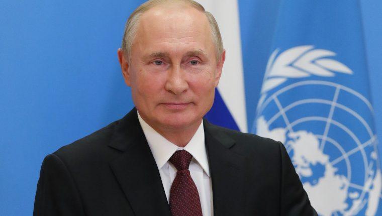 Putin defiende ante la ONU la vacuna rusa contra el coronavirus. (Foto Prensa Libre: AFP)