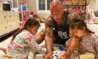 La Roca, su esposa e hijas fueron diagnosticados con coronavirus. (Foto tomada de Instagram)