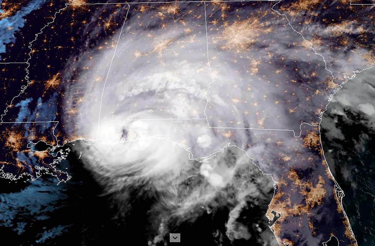Fotogalería: El huracán Sally toca tierra en EE. UU. y causa alarma en la costa sur