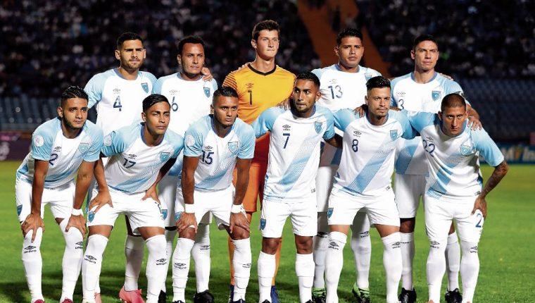 Estos son los rivales que Guatemala deberá vencer para clasificar a la Copa Oro 2021