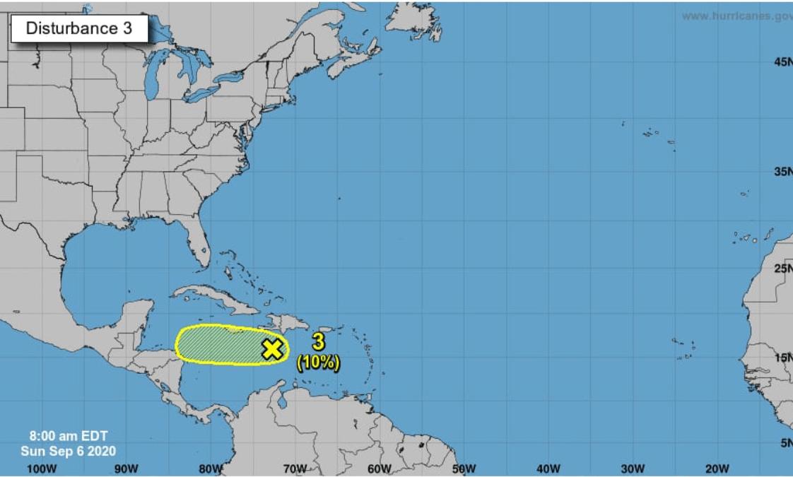 Insivumeh monitorea nuevo sistema de baja presión que podría convertirse en huracán en el Caribe