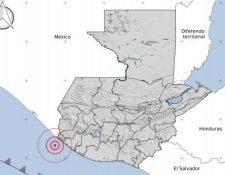 Epicentro del sismo fue en el Pacífico frente a San Marcos.