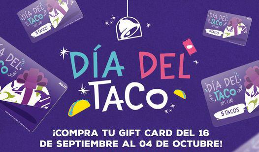 Taco Bell festejará el Día del Taco 2020