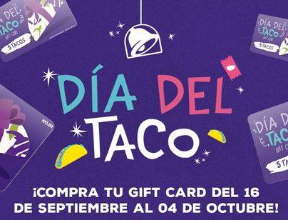 En todo el mundo cada año Taco Bell festeja el Día del Taco. Foto Prensa Libre: Cortesía