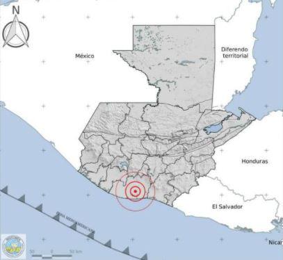 Reportan fuerte temblor en Guatemala este 27 de septiembre de 2020