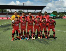 Malacateco superó a Antigua GFC en casa. (Foto Ligagt).